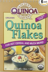 Admit it. You've never heard of Quinoa Flakes. Who said this blog isn't educational? Because she is a LIAR.