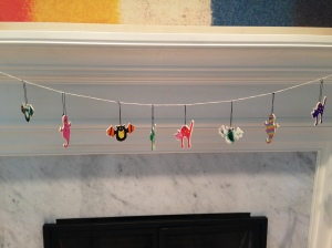 And the black cats were hung by the chimney with care. (Wait. That didn't come out right.)