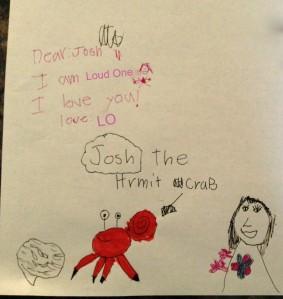 Josh letter