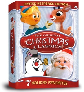 In fact, I'm thankful for the Rudolph and Frosty DVDs!
