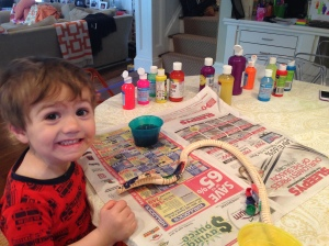 Painting snakes (and cars and birdhouses and crocodiles)