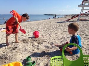 Loving the beach...