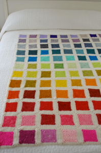 Whit's Knits: Bear's Rainbow Blanket (purlbee.com)